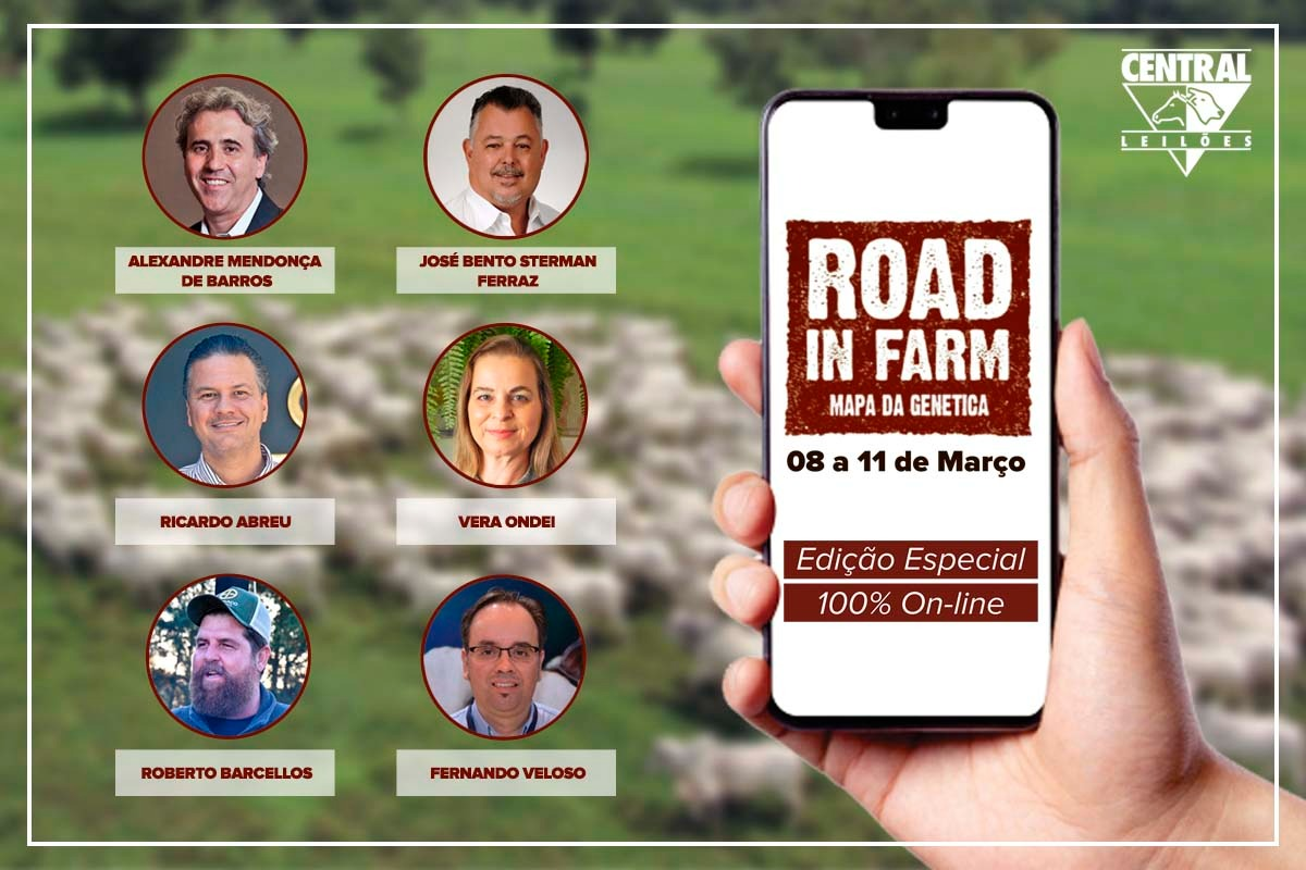 Confira os especialistas que integram o Road in Farm 2021